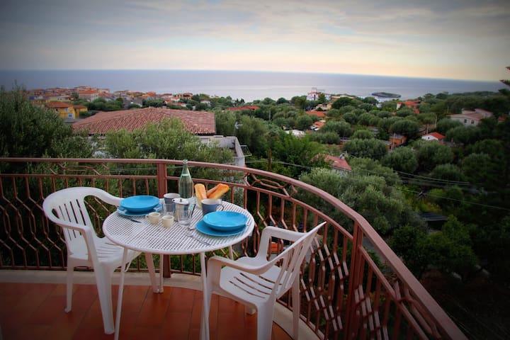 appartamento panoramico marina di camerota - Marina di Camerota - Apartamento