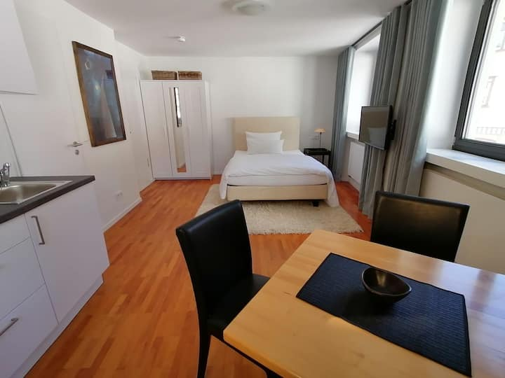 Modern 1-Room Apartment No. 1 in the middle of the City Center with Wi-Fi