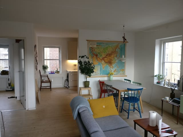 Central spacious apartment  - Aarhus - Leilighet