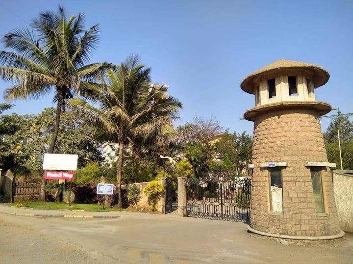 2BHK Luxurious flat  in  Beautiful Bunglow Bavdhan