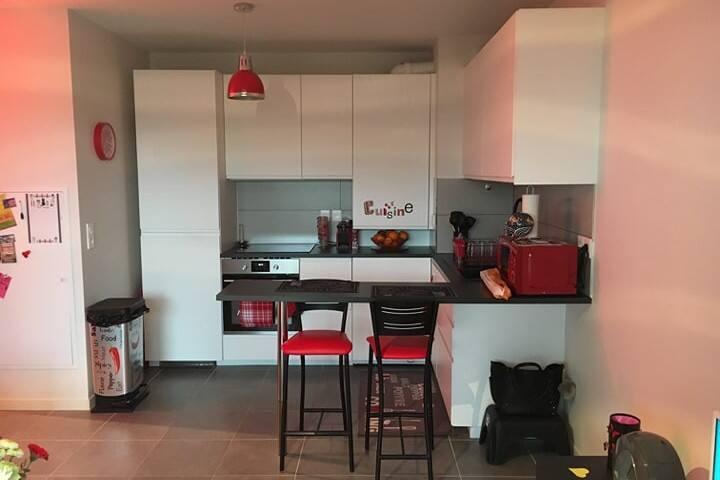 Appartement T2 moderne et lumineux.