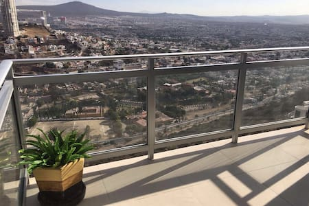 Luxury apartment with arcos view.