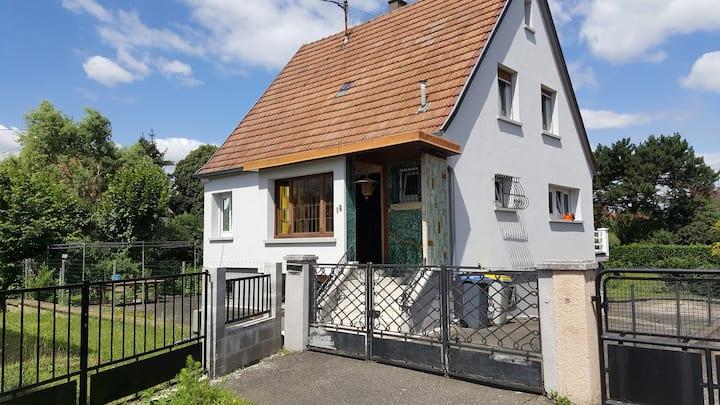 Maison de 100m2  au calme proche de Strasbourg