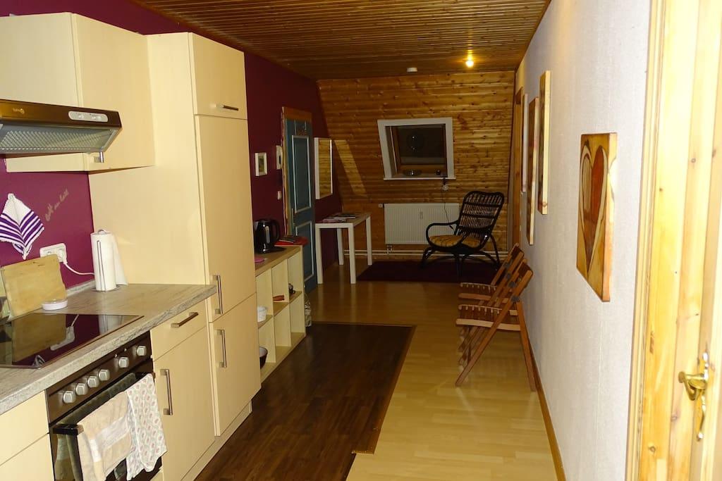 ferienwohnung auf ruhigem pferdehof wohnungen zur miete in wensin schleswig holstein deutschland. Black Bedroom Furniture Sets. Home Design Ideas