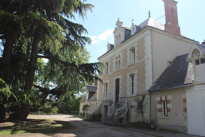 Old Mansion House with Pool - Loire Valley*** - Chitenay - Zamek