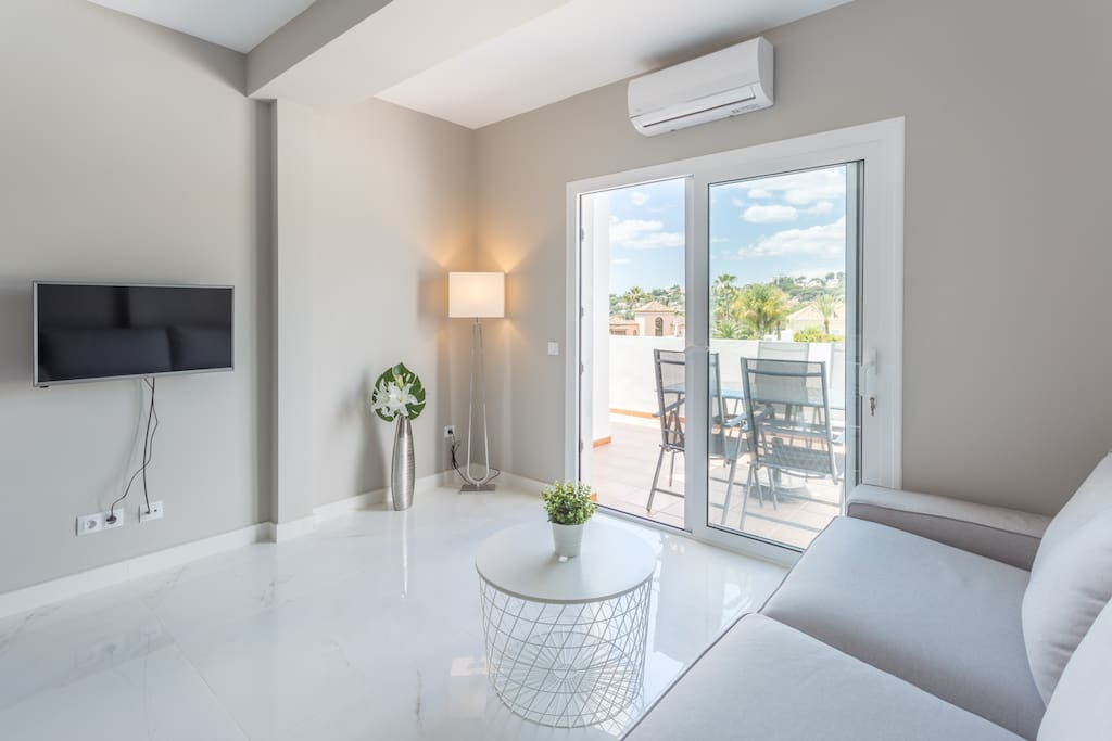 Brand new interiors and fully renovated living room