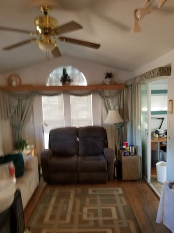 28x60 and covered carport Corner lot