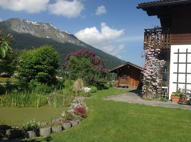 Quite studio apartement in beautiful location - Klosters-Serneus - Apartmen