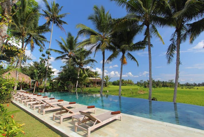 MATHIS Retreat-Luxury in the Ricefield -1to21rooms