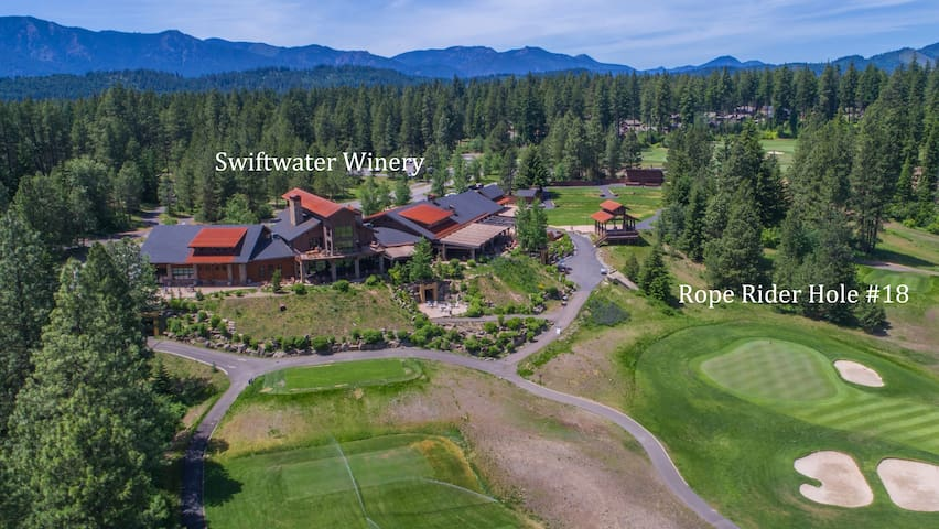 Great food and spirits at Swiftwater Winery in Suncadia Resort.