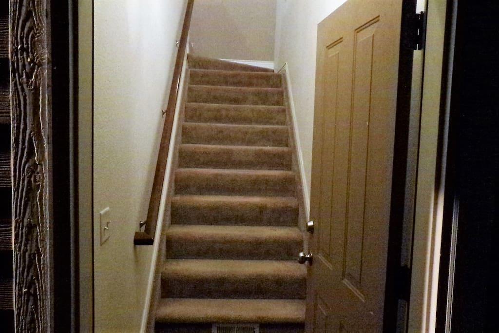 Second Floor Walk Up