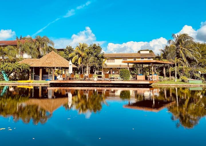 Casa Interlagos, 5 qtos, piscina, jacuzzi, sauna