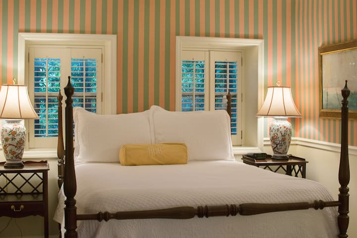 Carriage House Queen; Private En-Suite #4 - Charleston - Bed & Breakfast