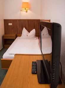 gemütliches Einzelbett