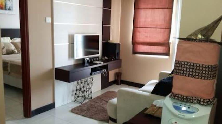 1BR Full furnished Sudirman Park! - Yakarta - Departamento