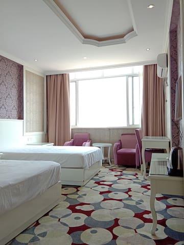 西城路副食品批发市场对面格伦酒店式公寓可日租,月租,年租双床房拎包入住