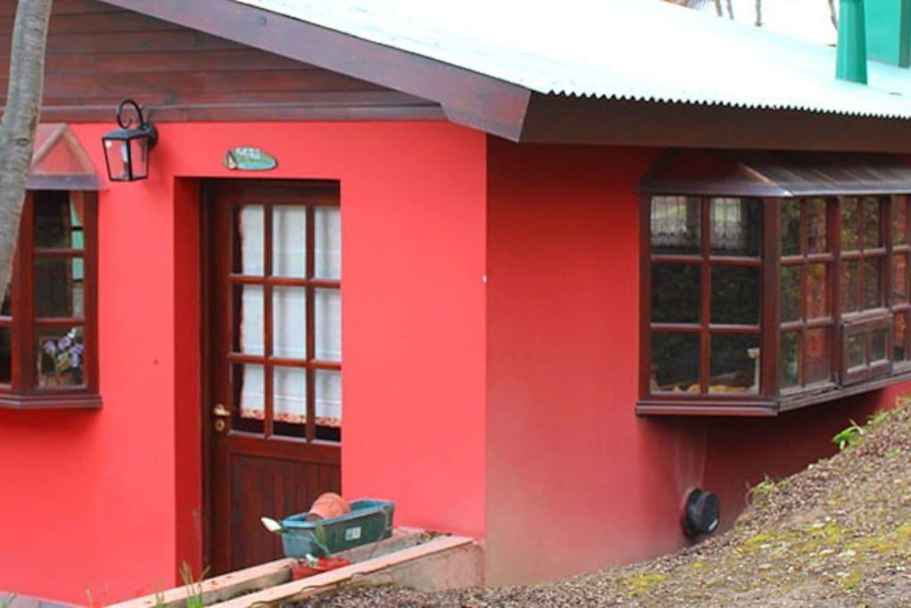 Exterior de la Cabaña Studio La Mamina