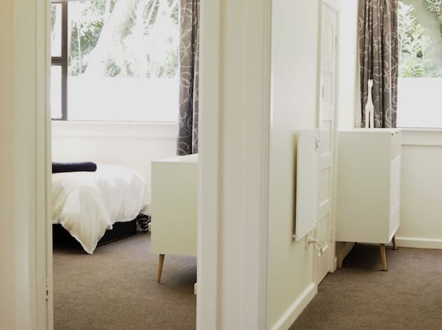 The bedrooms are light and bright with everything you need for a comfortable stay.