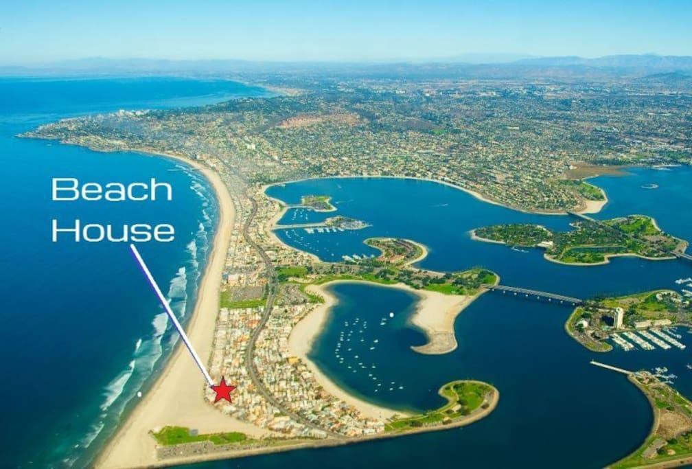 Located in South Mission Beach San Diego California