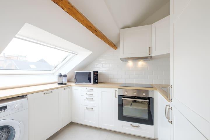 Appt/loft neuf bien situé calme