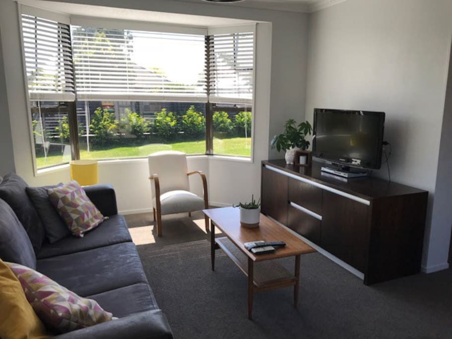 Lounge with TV and DVD player