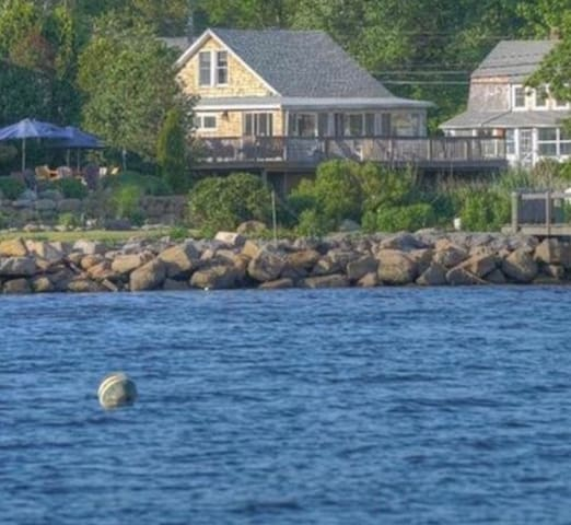 View of The Clam Shack from the ocean