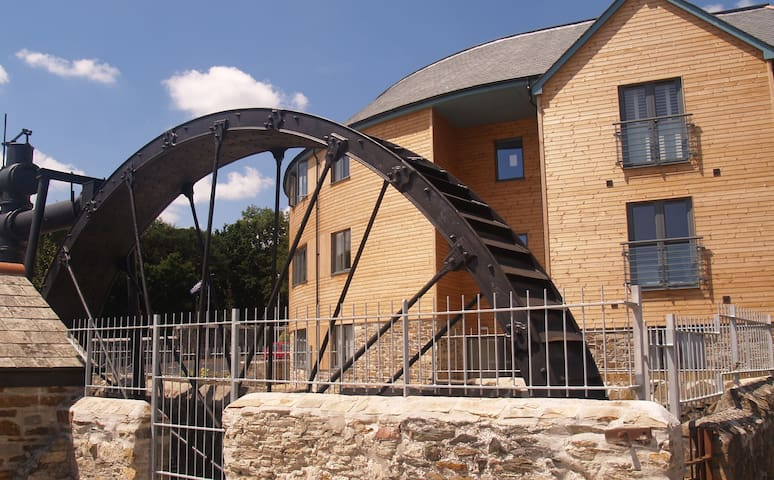 The Waterwheel Apartment, Charlestown, St Austell - Cornwall - Wohnung