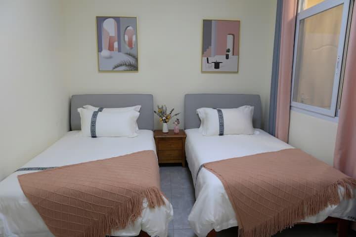 【悠家】宝山村国际山地旅游度假胜地双床房