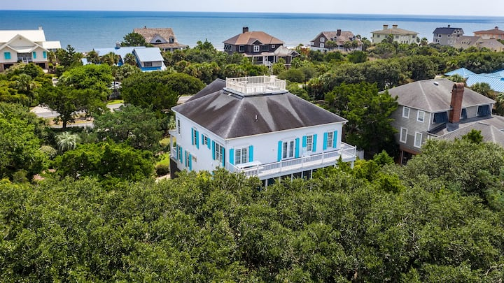 Lovely second row home just steps to the beach Sand & Sea