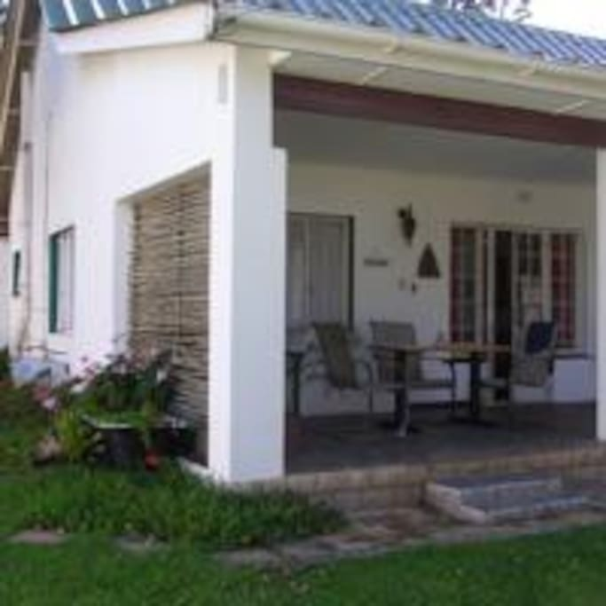 Bateleur with Furnished Patio
