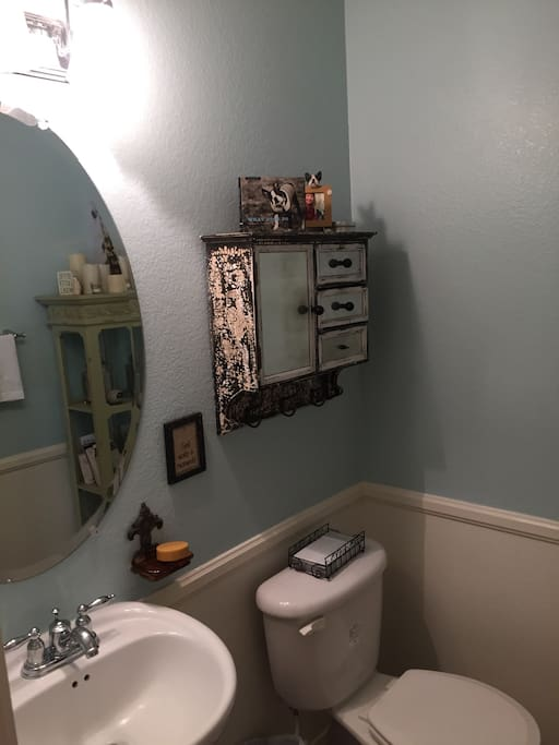 Downstairs extra WC
