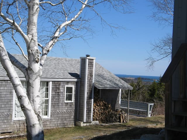 Easterly cottage at Morse Mountain
