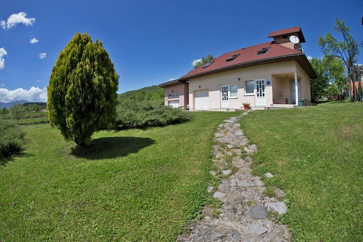 Two bedroom apartment with air-conditioning Otočac, Velebit (A-18109-a)