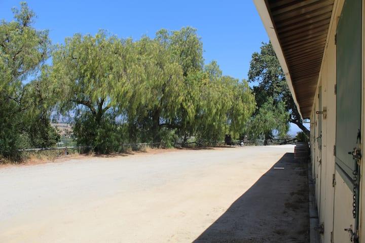 Ballard Hill Ranch RV parking spot