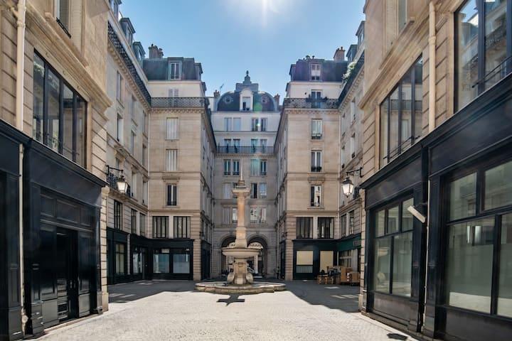 Lovely Loft in Louvre , Palais Royal area
