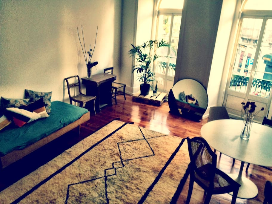 Living Room. 30sm of Lisbon Light.