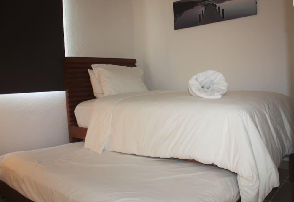 Recamara 2 camas individuales