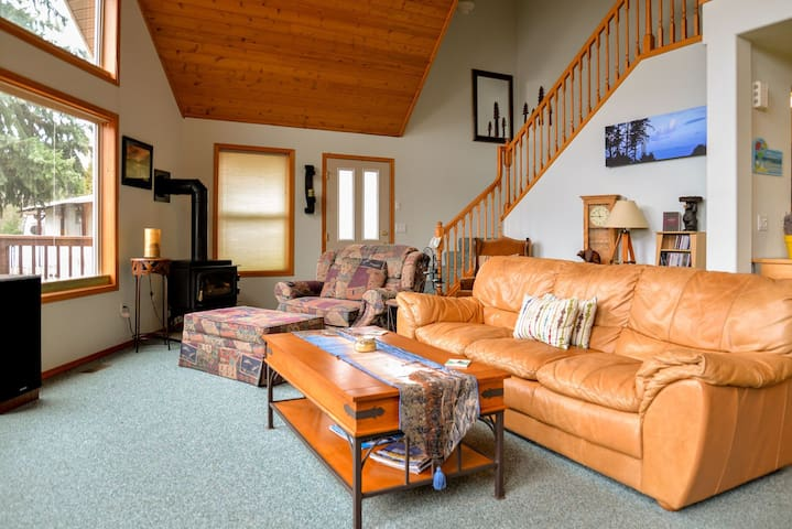 Coeur d`Lang Lodge - Worley - Casa