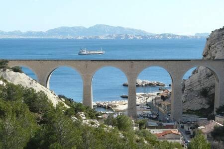 Cabanon aux portes de Marseille - Wohnung