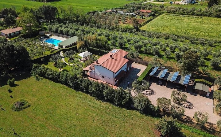 Villa Bionda - Amazing villa with pool, Maremma