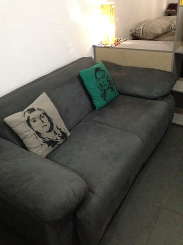 Sofá cama bem localizado - São Paulo - Apartment