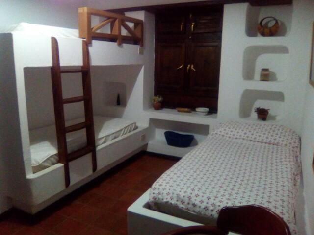 La Molina habitación de tres camas