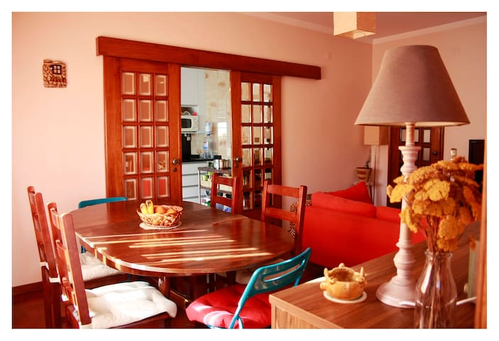 2min from beach,10min from center (w/breakfast) - Vila do Conde - Huoneisto