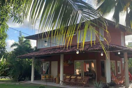 Casa Vermelha - Luxo com piscina e praia em Ipioca