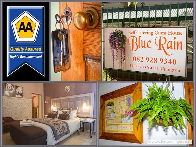 Blue Rain Guest House.  9 rooms. 2 family units
