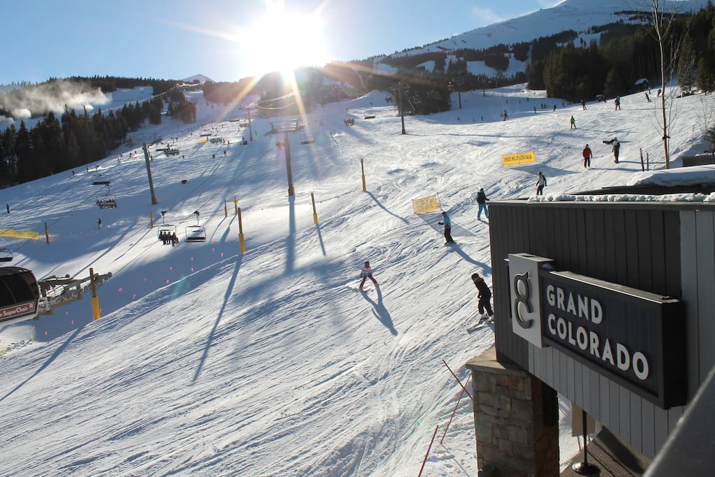 Truly ski-in/ski-out