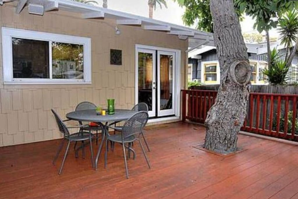 Delightful Back porch