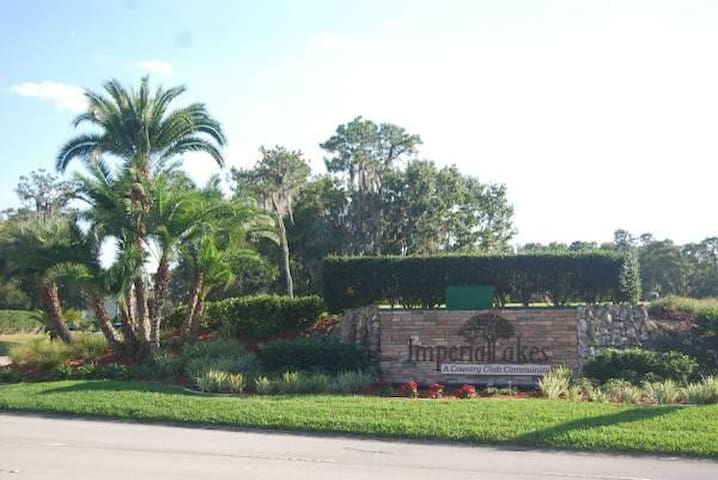 Furnished Condominium in a Golf Course Community