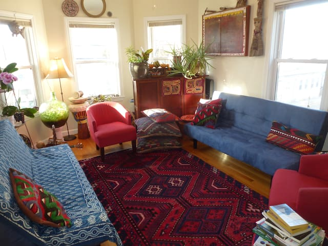 connected ,centrally located pad - Somerville - Apartamento