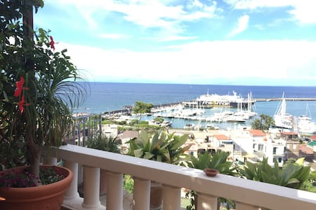 Portion of panoramic villa - free WIFI - Casamicciola Terme - 公寓